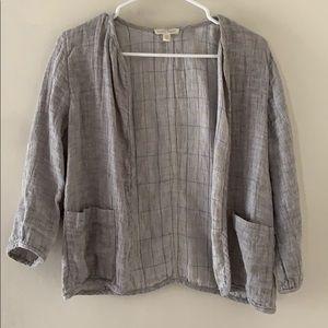 Eileen Fisher Linen Cardigan Jacket